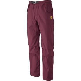 Moon Climbing Cypher Pants Herre burgundy
